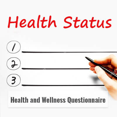 HEALTH & WELLNESS  QUESTIONNAIRE